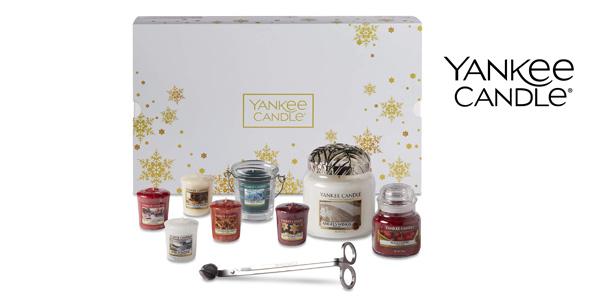 Set Navidad 11 piezas Yankee Candle barato en Amazon