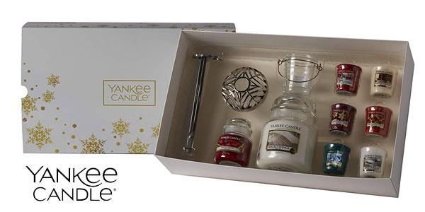 Set Navidad 11 piezas Yankee Candle chollo en Amazon