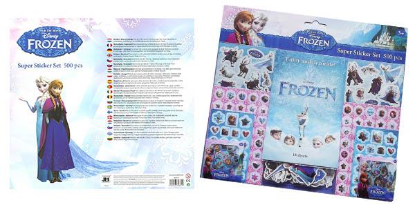 set de pegatinas Frozen barato