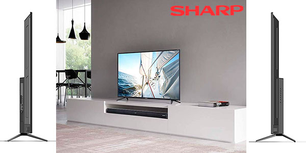 Smart TV Sharp LC-49UI7252E UHD 4K barata