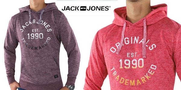 Sudadera con capucha Jack & Jones 21050 para hombre chollazo en eBay