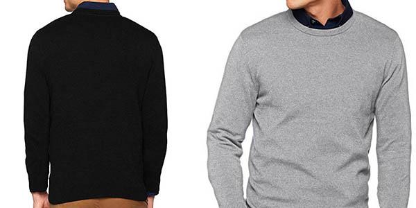 suéter de punto Jack Jones de cuello redondo oferta
