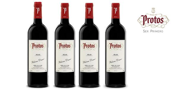 Botella Vino tinto Roble Protos de 75 cl chollo en Amazon