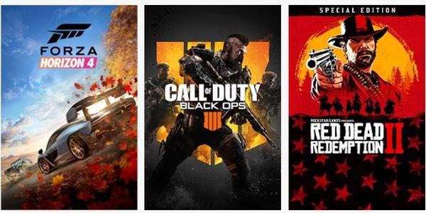 Ofertas en juegos digitales de Xbox