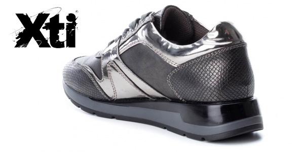 Zapatillas Xti Selma gris plomo para mujer chollo en eBay