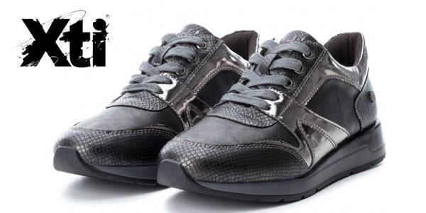 Zapatillas Xti Selma gris plomo para mujer chollazo en eBay