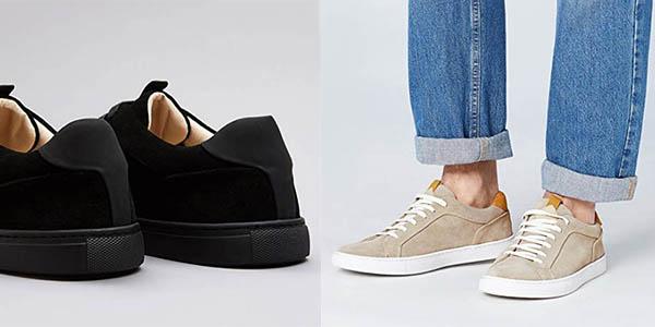 zapatillas Find de diseño en terciopelo para uso diario chollo