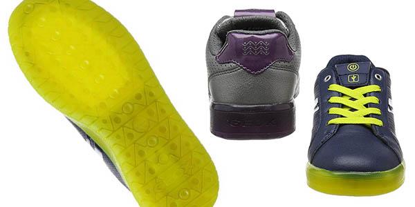 zapatillas infantiles con luces Geox J Kommodor oferta
