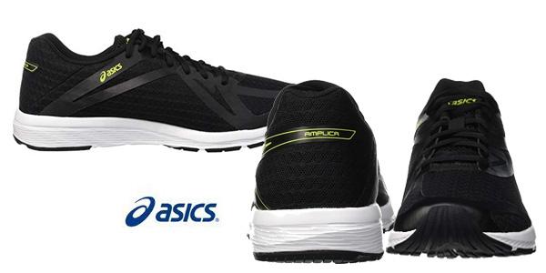 Zapatillas de running Asics Amplica negro para hombre chollazo en Amazon