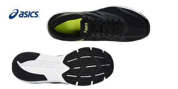 Zapatillas de running Asics Amplica negro para hombre chollo en Amazon