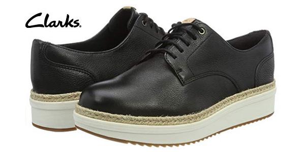 Zapatos de cordones Clarks Teadale Rhea para mujer baratos en Amazon