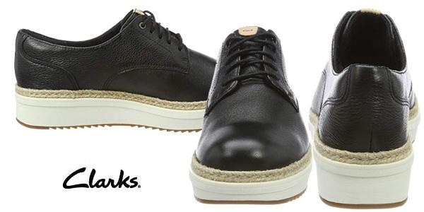 Zapatos de cordones Clarks Teadale Rhea para mujer chollazo en Amazon