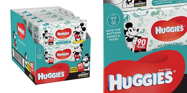 Toallitas húmedas Huggies edición especial Disney baratas en Amazon