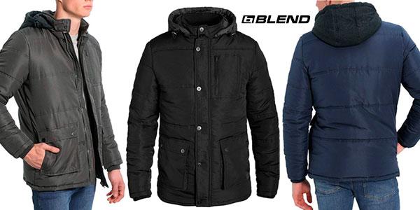 Chaquetón de invierno Blend Lima con capucha para hombre barato
