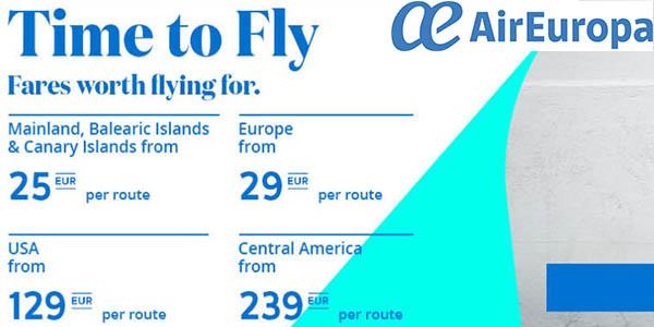 Air Europa rebajas enero 2020