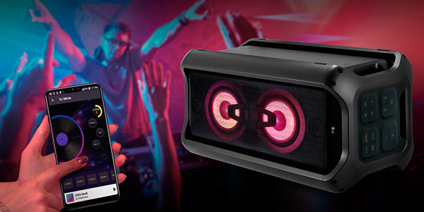 Altavoz LG RK7 Bluetooth de 550 W en oferta