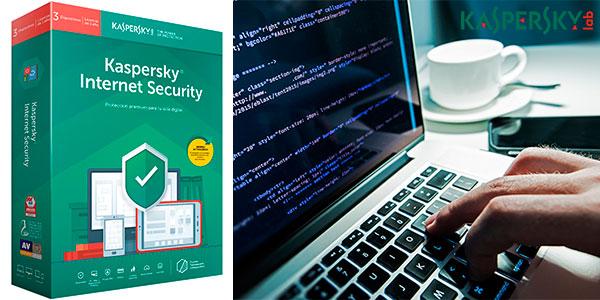 Chollo Antivirus Kaspersky 2019 Internet Security para 3 dispositivos