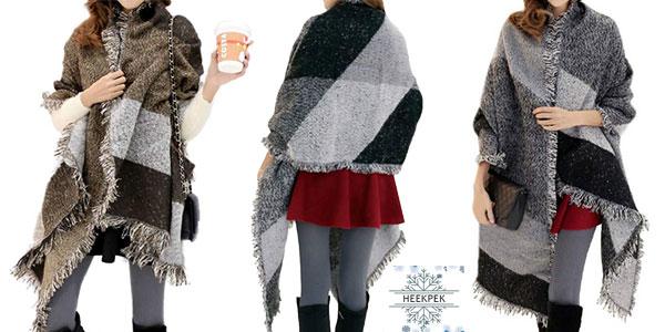 Bufanda de abrigo Heekpek para mujer barata en Amazon