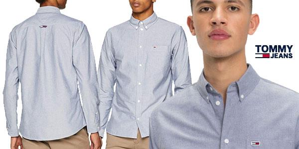 Camisa Oxford Tommy Classics para hombre barata en Amazon