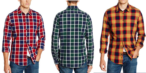 Camisa Redford Oslo a cuadros barata en Amazon