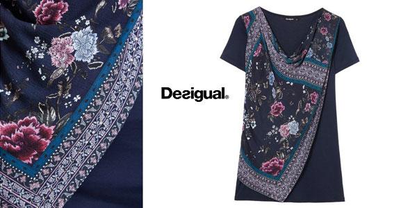 Camiseta Desigual Vicent para mujer chollo en Amazon