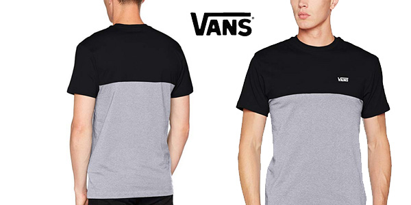 Camiseta Vans Colorblock chollo en Amazon