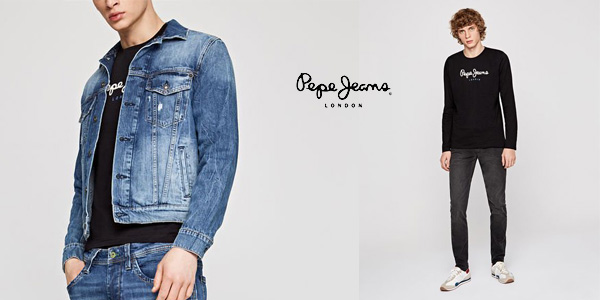Camiseta manga larga Pepe Jeans Eggo Long para hombre chollazo en Amazon