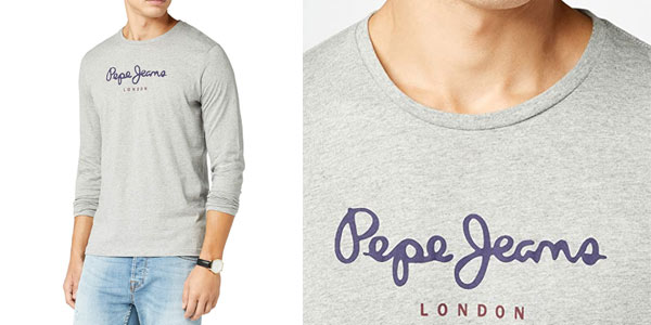 Camiseta Pepe JEans Eggo Long barata en AMazon