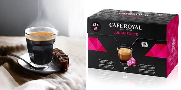cápsulas de café compatibles con Nespresso Café Royal Lungo Forte pack ahorro