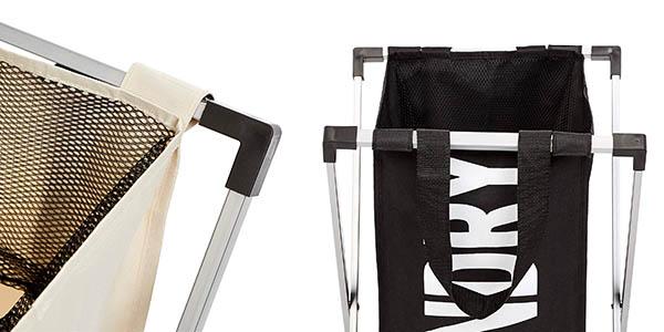 cesto para ropa sucia AmazonBasics relación calidad-precio genial