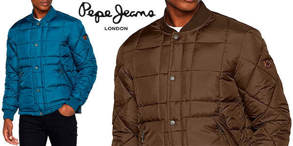 Chaqueta Pepe Jeans Norske acolchada para hombre barata