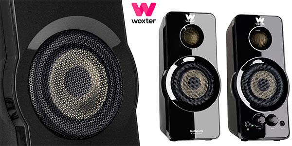 Chollo Altavoces Woxter Big Bass 95 de 20 W para PC
