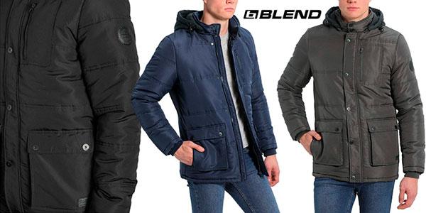 Chollo Chaquetón de invierno Blend Lima con capucha para hombre