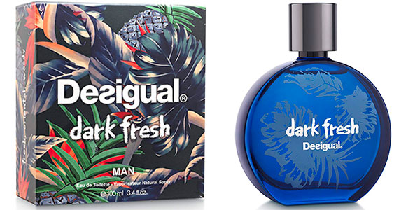 Chollo Eau de toilette Desigual Dark Fresh de 100 ml para hombre