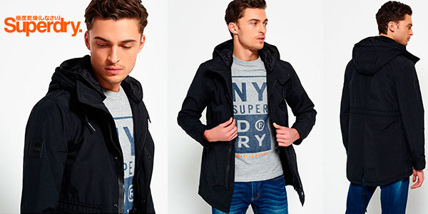 Chollo Parka Superdry Surplus Goods Lite para hombre