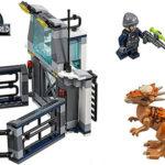 Chollo Set Fuga del Stygimoloch de LEGO Jurassic World con 3 minifiguras