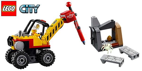 Chollo Set Mina: Martillo hidráulico de LEGO City con 2 minifiguras