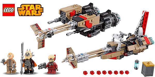 Chollo Set Cloud-Rider Swoop Bikes de LEGO Star Wars con 3 minifiguras