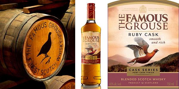 Chollo Whisky escocés The Famous Grouse Ruby Cask de 700 ml
