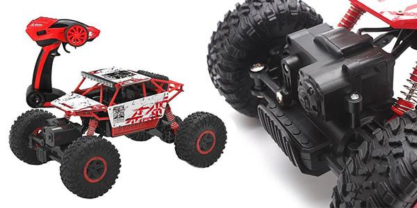 coche todoterreno Rock Crawler 4x4 con control remoto barato