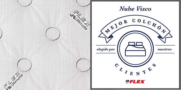 Colchón muelles ensacados FLEX Ultimate Nube Visco con Gel chollo en Amazon
