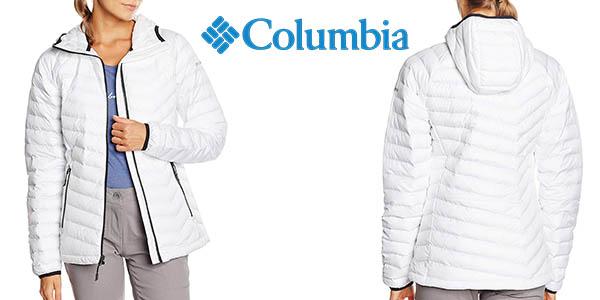 Columbia Powder Lite chaqueta impermeable barata