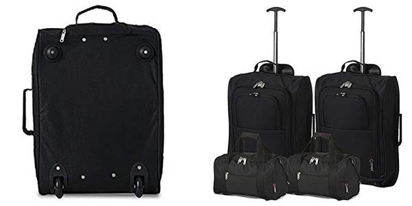 conjunto de maletas básicas de viaje para familias oferta