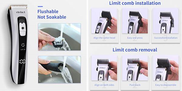 cortapelos cuchillas Elehot relación calidad-precio estupenda