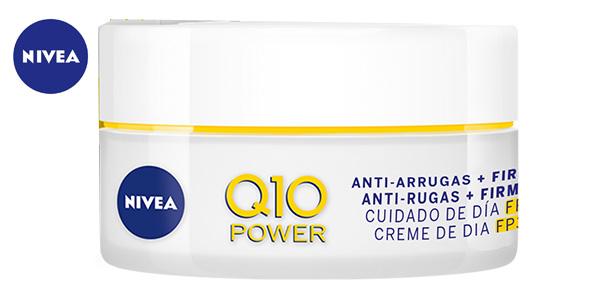 Crema Hidratante Antiarrugas Nivea Q10 Plus Triple Defensa SPF 30 de 50 ml chollo en Amazon