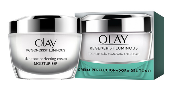 Crema hidratante de día Olay Regenerist Luminous perfeccionadora del tono barata en Amazon