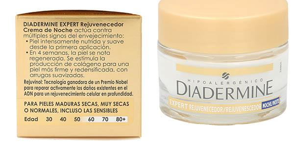 crema de noche Diadermine Expert Rejuvenecedor 50 ml chollo