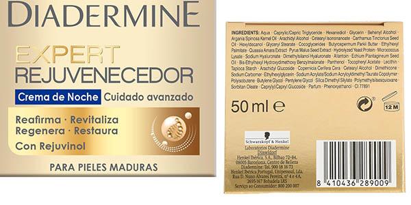 Diadermine Expert Rejuvenecedor crema de cara noche oferta