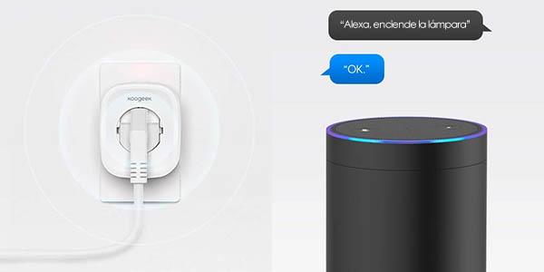 Enchufe inteligente Koogeek Wi-Fi Smart Plug barato