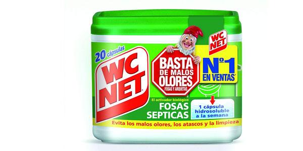 Envase 20 cápsulas Wc Net Fosas Septicas barato en Amazon
